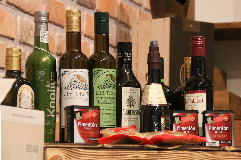 Paco`s Taverne - Spanische Konserven, Pasteten, Oliven, Eingelegtes, Fischdelikatessen und Meeresfrüchte, Spanische Olivenöle, Spanische Gewürze - Spanische Feinkost in Bremerhaven